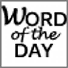the word of word of the day thewordoftheday twitter