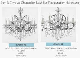 the great chandelier debate house of hargrove intended for restoration hardware chandelier view 42