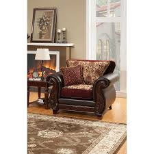 Burgundy Living Room Set Full Size Living Roomhome Furnishing
