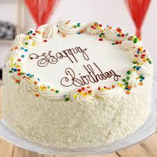 White Forest Cake Winni