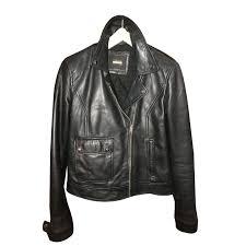 zara leather biker biker jackets leather black ref 59238