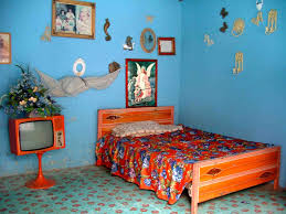 Unique Wall Paint Bedroom Awesome Blue Brown Wood Unique Design Bedroom Teenagers