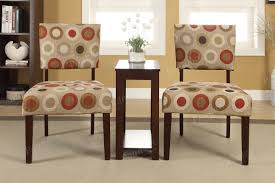 Showroom Living Room 3 Pcs Accent Pieces Chair Side Table Living Room Furniture
