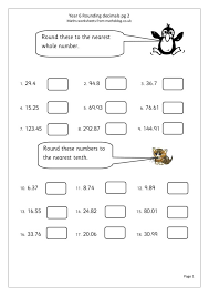 Rounding To The Nearest Whole Number Worksheets Worksheets for all ...