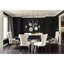 black white and grey living room decor with striped chairs and large dining table black and white striped furniture