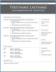 Resume Templates Word 2003 Template For Resumes Word Functional ...