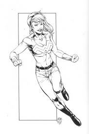 Ransom Getty Wondergirl Inks By Sketchpimp