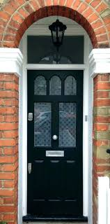 beveled glass front door inserts half 3 4 entry with sidelights stained d