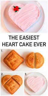 The Easiest Heart Cake Ever 4 Ways Cake Decorating Ideas Cake