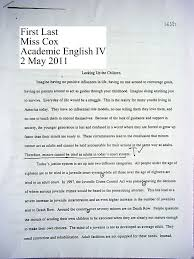 miss cox s english classes sample persuasive essay