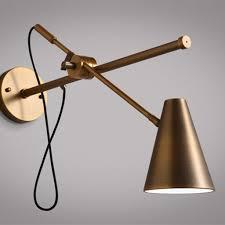 modern style bronze wall lamp scandinavian interior hong kong