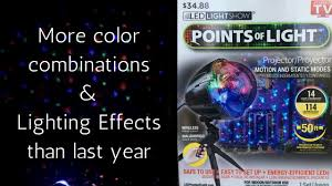 As Seen On Tv Led Lightshow Points Of Light Points Of Light Review 2017