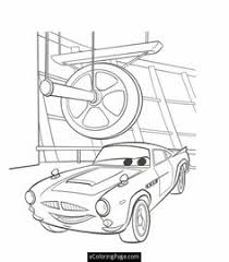 Small Picture Cars 2 Printable Coloring Pages cars 2 professor z and rod