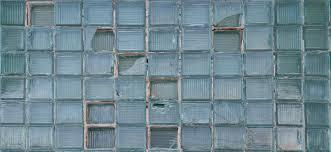 glass bricks wall