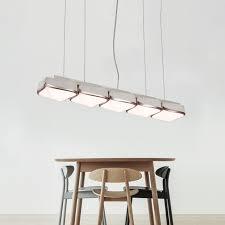 creative hanging bar light 24 80 33 46 39 37 long rose gold led linear pendant light 18 24 30w led warm white 3 light 4 light 5 light led square