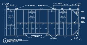 Tiny Home Plans Trailer Tiny House On Trailer Floor Plans Success        Tiny Home Plans Trailer See How To Attach It To The Trailer  Frame Each Wall