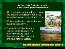unit literary focus essays ppt video online american r ticism a reaction against rationalism