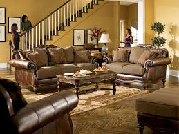 Traditional Sofas Living Room Furniture Claremore Traditional Antique Fabric Sofa Wpillow Back For