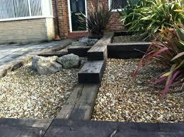 Garden Design Ideas With Railway Sleepers Railway Sleepers In The Garden I Like This Idea Garden