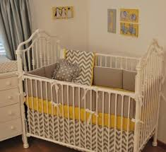 gray and white baby bedding grey chevron and yellow crib bedding grey and white nursery bedding