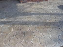 Stamped Concrete Kitchen Floor Floor Cool Patterns Stamp Concrete Designs Elerwandacom