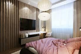 Wood Wall Slats Bedroom Des.