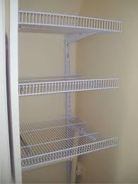 image of wire closet shelving install closet organization