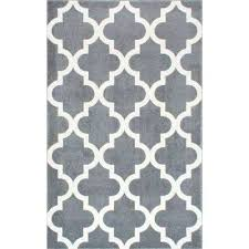 meeker trellis grey 8 ft x area rug nuloom contemporary geometric diamond n