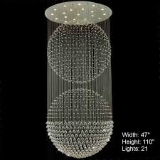 crystal ball chandelier stunning ledrystal 30cmhandelier diy disco for indoorhrome luxury round hanging pendant light parts brizzo lighting double sphere