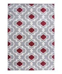 love this red moroccan trellis toscana rug