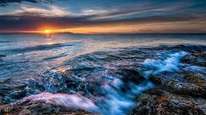 Ocean Wave Background Ocean Waves Desktop Background 572104 Wallpapers13 Com