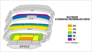Blumenthal Theater Charlotte Nc Seating Chart Meticulous Belk Theater Seating Belk Theater Charlotte