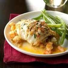 Flounder with Shrimp Stuffing Recipe | Taste of Home