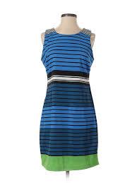 Details About Pim Larkin Women Blue Casual Dress S