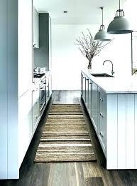 black kitchen rug runner rugs washable area ideas bear