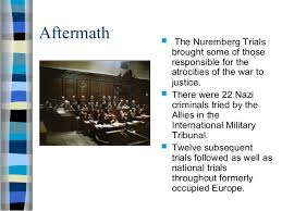 holocaust ppt 40 aftermath   the nuremberg trials
