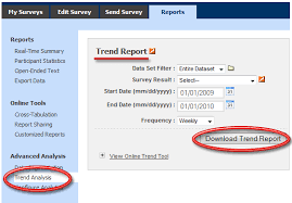 Satisfaction Survey Report Using Trend Analysis To Track Your Customer Satisfaction