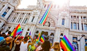 Gay pride parade festival
