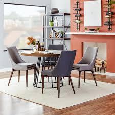 Brayden Studio Bedoya Parsons Chair  Reviews Wayfair - Leaky faucet bathroolearn leather dining room chairs on sale