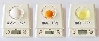 卵 一個 何 グラム