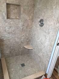 custom shower pan shower base installation fiberglass tile on fiberglass shower pan