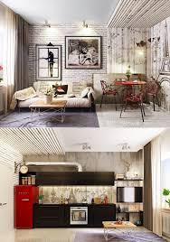 Modern Industrial Living Room Design