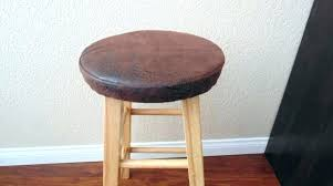 bar stool seat cushion round covers vintage leather target outdoor cushions