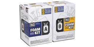 touch n seal u2 600 two component 1 75 pcf fr standard closed cell spray foam insulation kit