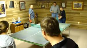 channell round the table ping pong