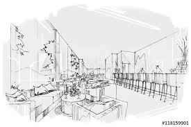 Interior design drawings perspective Pdf Sketch Perspective Stripes All Day Black And White Interior Design Sketch Perspective Stripes All Day Black And White Interior Design