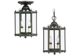 double hanging lantern foyer light with traditional model for decorate interior and exterior pendant lamp design