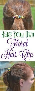 Vibrant Summer Hair Floral Hair Clip