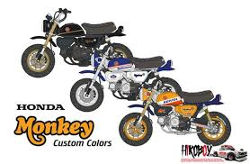 Check spelling or type a new query. 1 12 Honda Monkey 125 Custom Decals Bs 12018 Blue Stuff