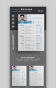 Modern Unique Resume Template Template Design For Resume Modern Resume